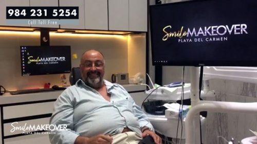 testimonio de procedimiento en coronas dentales