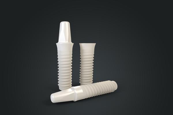 implante dental de zirconia